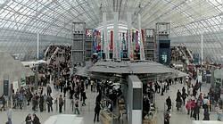 Eingangshalle der Messe Leipzig