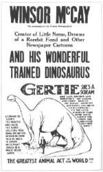 Filmplakat Gertie
