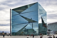 Cube Berlin, Washingtonplatz am Hauptbahnhof