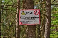 Naturpark Uckermärkische Seen bei Bredereiche