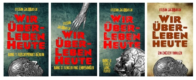 Alle vier Cover